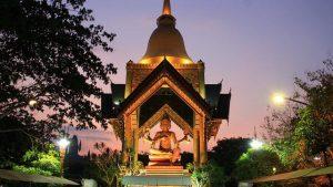 PATUNG BUDDHA EMPAT WAJAH DI SURABAYA