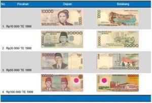 pecahan rupiah lama