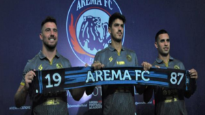 Arema FC Resmi Perkenalkan 3 Pemain Asing Baru