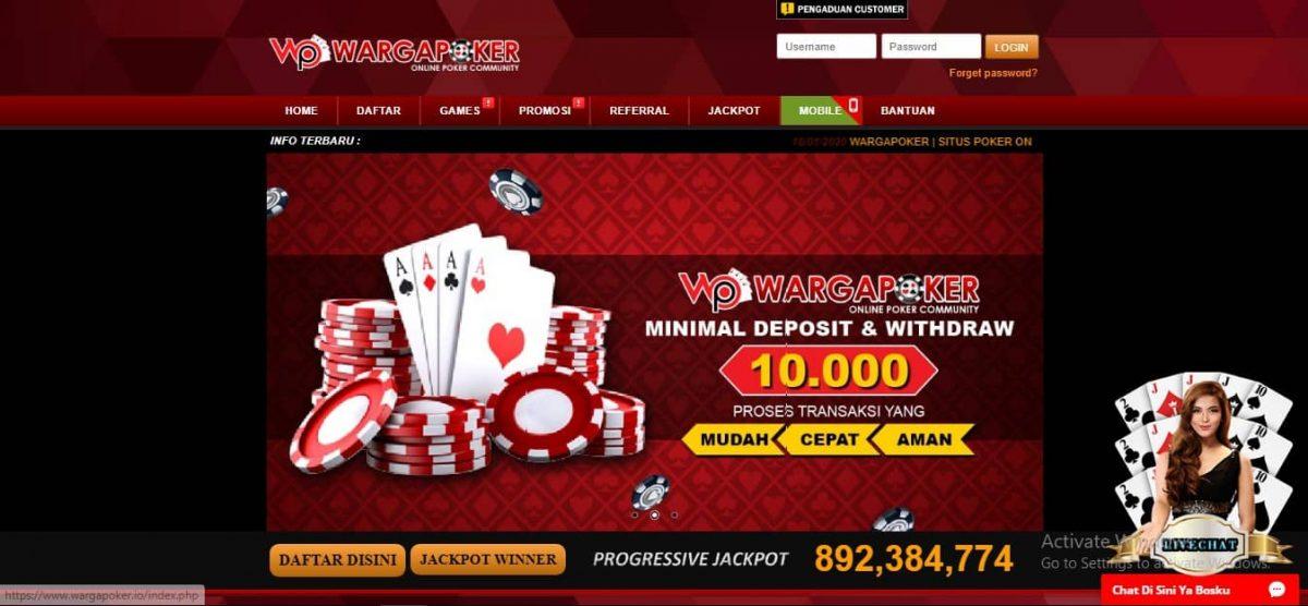Wargapoker Beri Cara Hindari Kekalahan Di Agen Poker Online Terpercaya