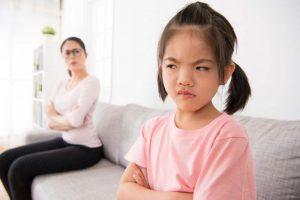 orang tua yang sering membentak sang anak