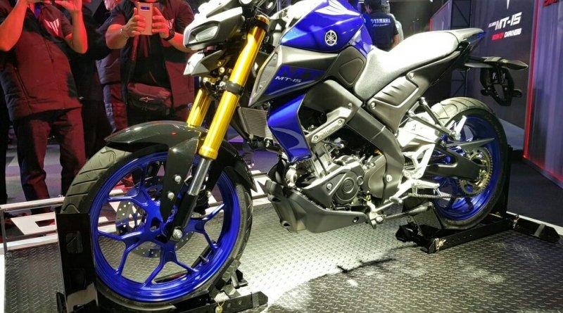 Motor Yamaha MT 15