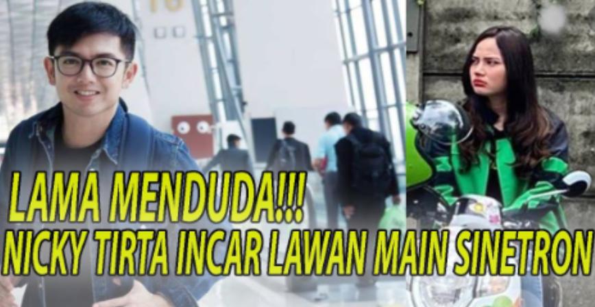 Nicky Tirta Tanggapi Isu Pacaran dengan Valendza Wijaya