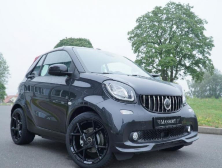 Modifikator Jerman Beri Sentuhan Elegan ke Mobil Kecil Ini